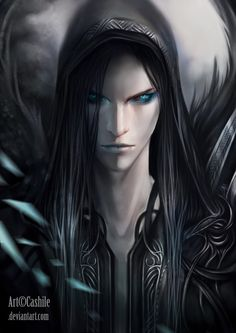 Luminous Wanderer by Cashile on deviantART ….he kinda looks elf like..don't know if he is…close enough lol