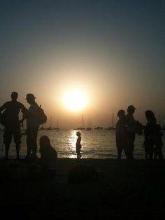 Formentera, facing the sun-big sur