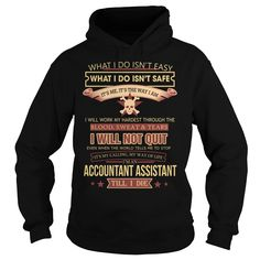 Accountant Assistant We Do Precision Guess Work Questionable Knowledge T-Shirts, Hoodies. CHECK PRICE ==► https://www.sunfrog.com/Jobs/Accountant-Assistant-Job-Title-Black-Hoodie.html?41382