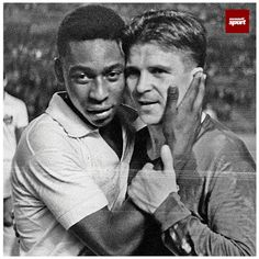 Pele y Ferenc Puskas First Football, Football Icon, Football Love, Best Football Players, School Football, Vintage Football, Sport Football, Real Madrid, Most Popular Sports