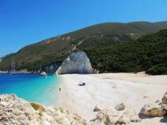 Fteri beach in Kefalonia