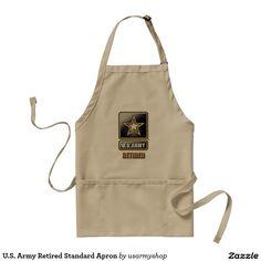 U.S. Army Retired Standard Apron