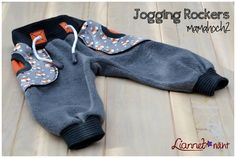 "Freebook ""Jogging Rockers"" 56 bis 122 - Spielhose, Hose,"