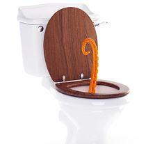 Oktopus Tentacle Toilet Plunger