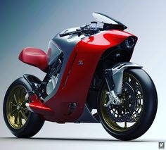 Moto : Illustration Description MV Agusta reveals the Zagato concept bike. We reckon this is going to inspire love/hate reactions, but it's fantastic to see a manufacturer trying different design directions. Mv Agusta, Ducati, Yamaha R6, Concept Motorcycles, Cool Motorcycles, Super Bikes, Image Moto, Guzzi, Motorcycle Wallpaper