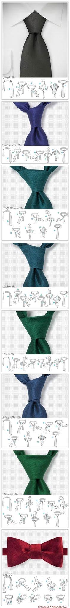 Como dar nó em gravata!