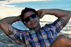 Mochilão de Ernesto Junior por Natal/RN. Em 2012.