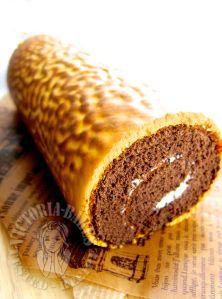 Tiger skin chocolate swiss roll 虎皮可可蛋糕卷
