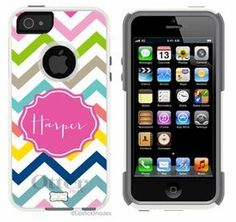 Monogrammed OtterBox Case iphone 5 iphone 4/4s OtterBox monogrammed