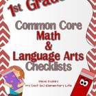 This 66 page pack is a resource pack I created this past summer to be used with the 1st grade Common Core Math and Language Arts Standards. This is a great organizational tool to track the Common Core Standards. $