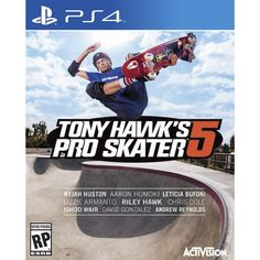 Product Features Grab your board and get ready to shred, kickflip and ollie as you pull off sick tricks and unbelievable combinations with Tony Hawk and other professional skaters in Tony Hawk's Pro S