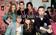 Teen Wolf has the hottest guys and prettiest girls in the world, its like a show of perfection.