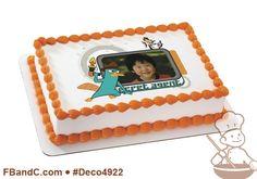 Deco4922 | PHINEAS & FERB SECRET AGENT PC FRAME | Disney, custom, photo.