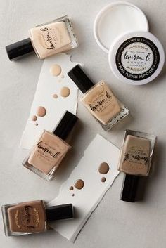 Lauren B Nude Polish Collection White One Size Fragrance