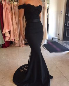 black bridesmaid dress Women, Men and Kids Outfit Ideas on our website at 7ootd.com #ootd #7ootd
