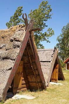 Viking Tents #norse #camp #camping