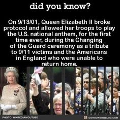 did you know? On Queen Elizabeth II broke protocol and allowed her troops to play the U. national anthem, for the first time ever,… The post Picture memes — iFunny appeared first on Dogs With Brian. Sweet Stories, Cute Stories, The More You Know, Did You Know, Wtf Fun Facts, Random Facts, Funny Facts, Random Things, Human Kindness