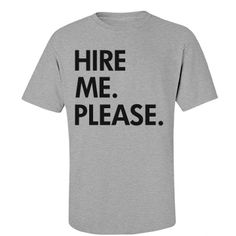 Grad's First Interview. Funny t-shirts for college graduation gifts.