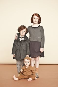 beautiful vintage twist on family photos. I like the warm honey butter hues.  MilK - Le magazine de mode enfant.