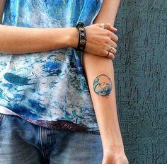 Wave Tattoo by Lenara