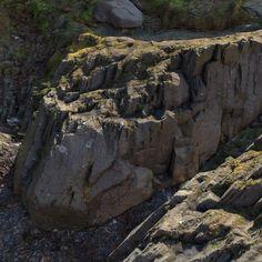 (WIP) Shore rocks, Pete Mc Nally on ArtStation at https://www.artstation.com/artwork/Ewzon