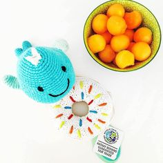 Look for this whale rattle in our Pebble 2016 Spring Collection. The donut is available now. What other sea creatures would you like to see?  #pebble #Pebbletoys #pebblechild #donut #whale #newarrivals #purchasewithpurpose #fairtrade #crochet #wfto #wftoguarantee #babygift #rattle #infant #babyshower