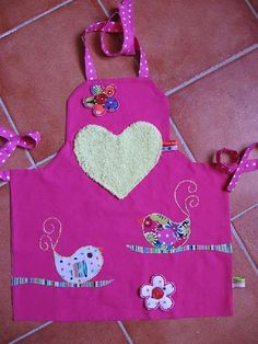 1000 ideas about tablier cuisine enfant on pinterest - Tablier cuisine petite fille ...