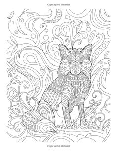 Amazon Wolves Coloring Book For Grown Ups 1 Volume Mandala ColoringColouring PagesColoring BooksAdult