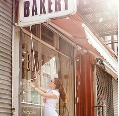 babycakes bakery nyc, a delicious gluten free bakery. Such a small space, but so much passion inside this bakery. Always stop here while in the village shopping. #SWEEPSENTRY