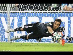 Claudio Bravo Best Saves ● World Cup 2014   HD  
