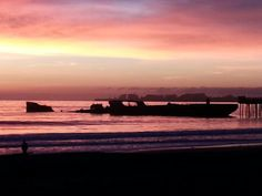 Because we all love the cement ship at sunset :)