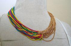 Rainbow Chain by stylebandit on Etsy, $25.00