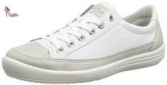 Legero Tino, Sneakers Basses Femme - Blanc (weiss Kombi 51), 42.5 EU - Chaussures legero (*Partner-Link)
