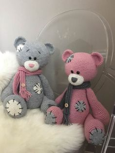 Mesmerizing Crochet an Amigurumi Rabbit Ideas. Lovely Crochet an Amigurumi Rabbit Ideas. Crochet Bear, Cute Crochet, Crochet Crafts, Yarn Crafts, Crochet Projects, Crochet Teddy Bear Pattern Free, Free Pattern, Diy Crafts, Crochet Toys Patterns