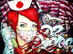 Dr. Doctor by ghost town art by Imamachinist aka Alister Dippner