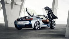 2012 BMW i8 Concept Spyder rear