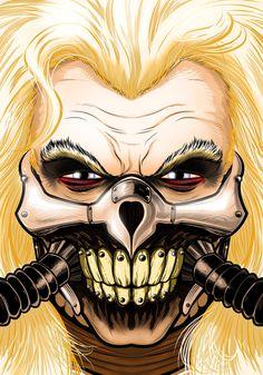 Immorten Joe by Thuddleston.deviantart.com on @DeviantArt The Road Warriors, Batman Wallpaper, Mad Max Fury Road, Comic Art, Art Movies, Joker, Awesome Art, Shirt Ideas, Samurai