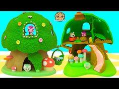 Dora and Friends Playset with Disney Jr Sofia The First, Barbie Doll, and Mystery Blind Bag Video - YouTube