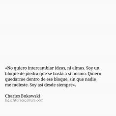 Desde siempre Frases Bro, Quotes Bukowski, Broken Book, Smart Quotes, Kahlil Gibran, Sad Life, Sigmund Freud, Charles Bukowski, More Than Words