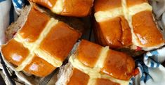 This Is Not A Drill! Hot Cross Buns Are Coming To A Table Near You! You're going to want a double batch.