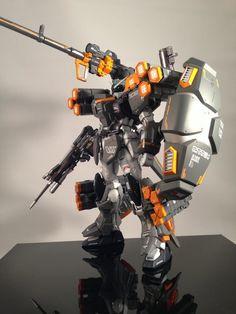 MG 1/100 Duel Gundam Assault Shroud - Custom Armor by Primarymhgb
