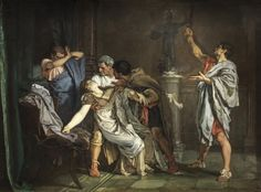 """""""La Muerte De Lucrecia (The Death of Lucretia)"""" by Eduardo Rosales The Collection - Museo Nacional del Prado"""