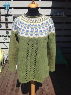 Blåklokke, Icelandic knitting