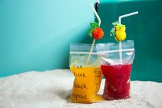 These Boozy Juice Pouches Are a Beach Game Changer