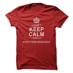 State Farm Insurance tee. Lol. Story of my life.