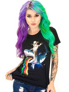 11603 best inked shop images on pinterest inked shop coupon codes womens bucking sharkaroo tee by goodie two sleeves fandeluxe Gallery