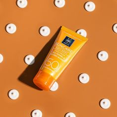 Our Anti-Spot sunscreen with acts as your day cream and helps you reduce spots & prevent the creation of new ones Facing The Sun, Sun Care, Face Care, Sunscreen, Cleaning Supplies, Cream, Bottle, Makeup, Summer