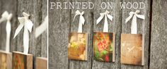 Photos on wooden blocks and boards!  PhotoBarn - Handcrafted Photo Products