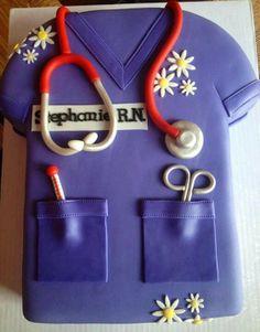 Get a fancy cake when I finish nursing school in May
