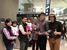 with Roberto爸爸family